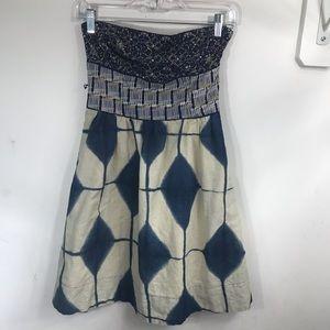 Maeve | Magellan Strapless Dress 0